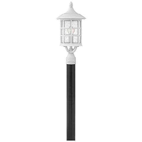 "Freeport 20 1/4"" High Classic White LED Outdoor Post Light"