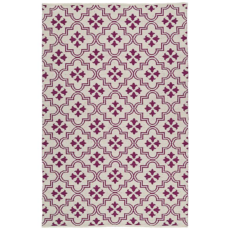 Kaleen Brisa BRI04-95 Purple Outdoor Area Rug