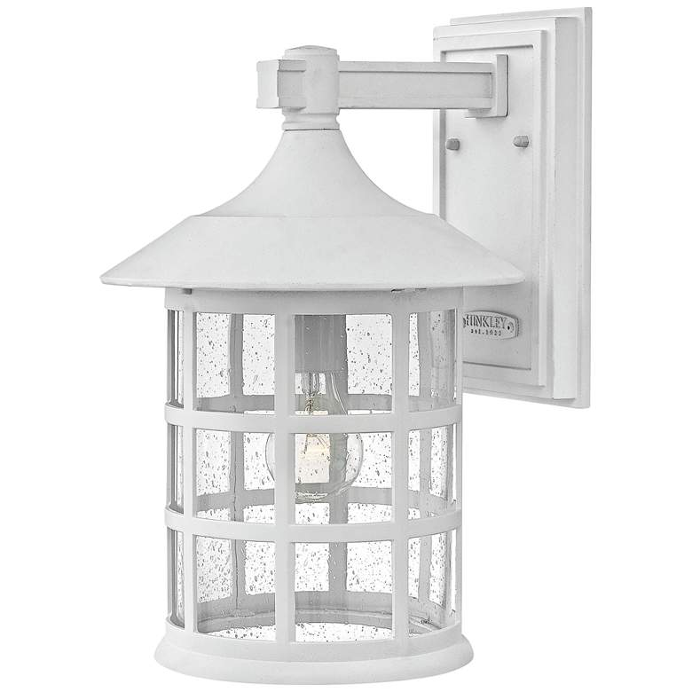 """Hinkley Freeport 15 1/4""""H Classic White Outdoor Wall Light"""