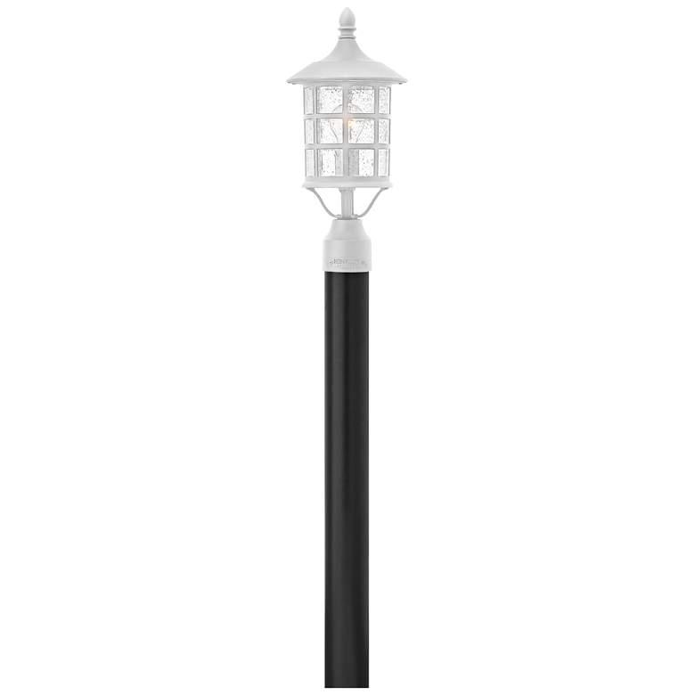 """Hinkley Freeport 17 3/4""""H Classic White Outdoor Post Light"""