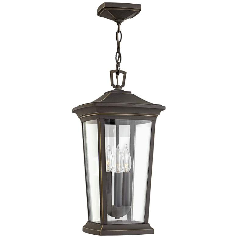 "Hinkley Bromley 19""H Oil Rubbed Bronze Outdoor Hanging"