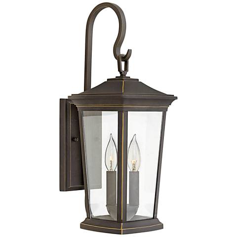 "Bromley 19 3/4"" High Oil Rubbed Bronze Outdoor Wall Light"