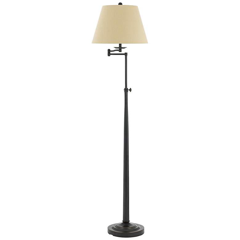 hot sale online 9d614 506df Madison Dark Bronze Adjustable Swing Arm Floor Lamp