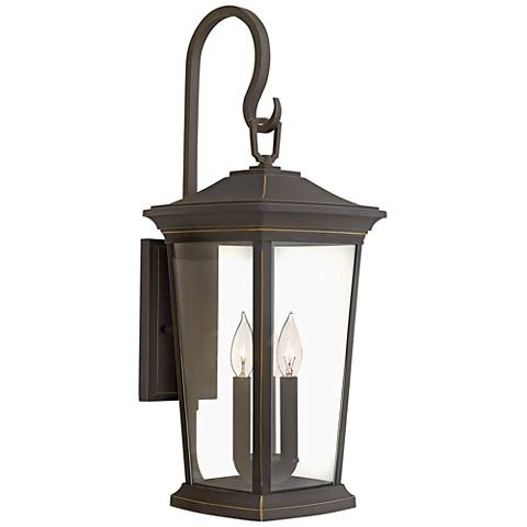 "Bromley 24 3/4"" High Oil Rubbed Bronze Outdoor Wall Light"