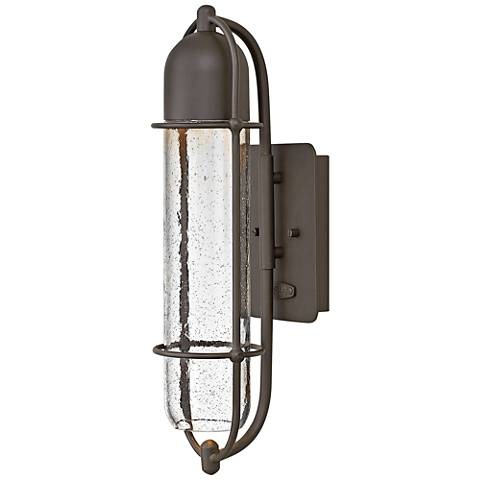 """Hinkley Perry 19 3/4""""H Oil Rubbed Bronze Outdoor Wall Light"""
