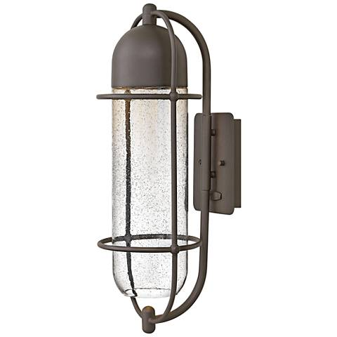 "Hinkley Perry 24"" High Oil Rubbed Bronze Outdoor Wall Light"