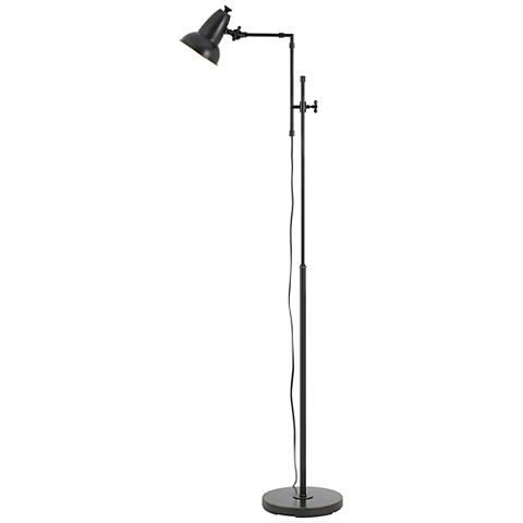 Hudson Oil Rubbed Bronze Adjustable Metal Floor Lamp