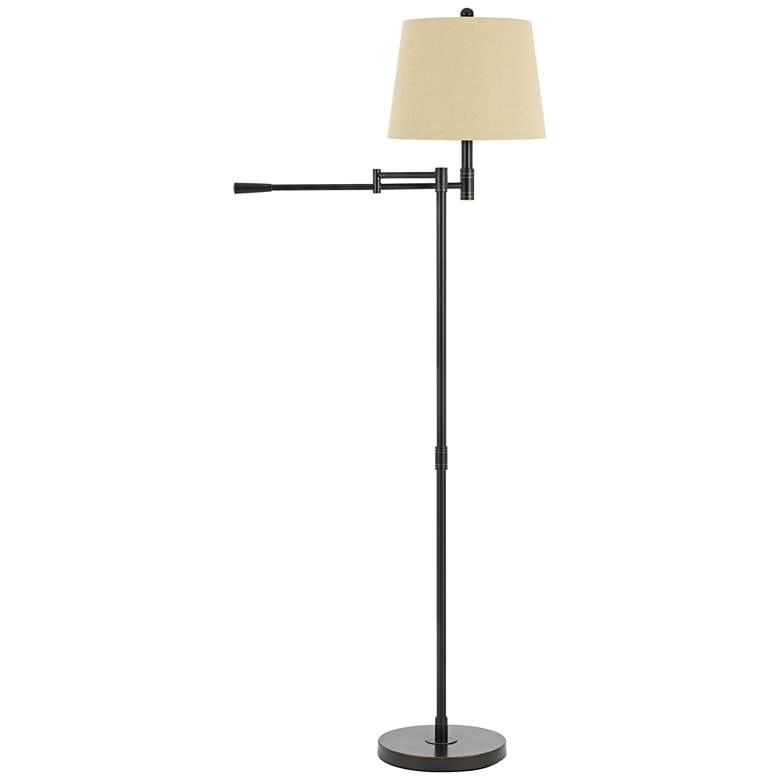 Monticello Oil Rubbed Bronze Linear Swing Arm Floor Lamp