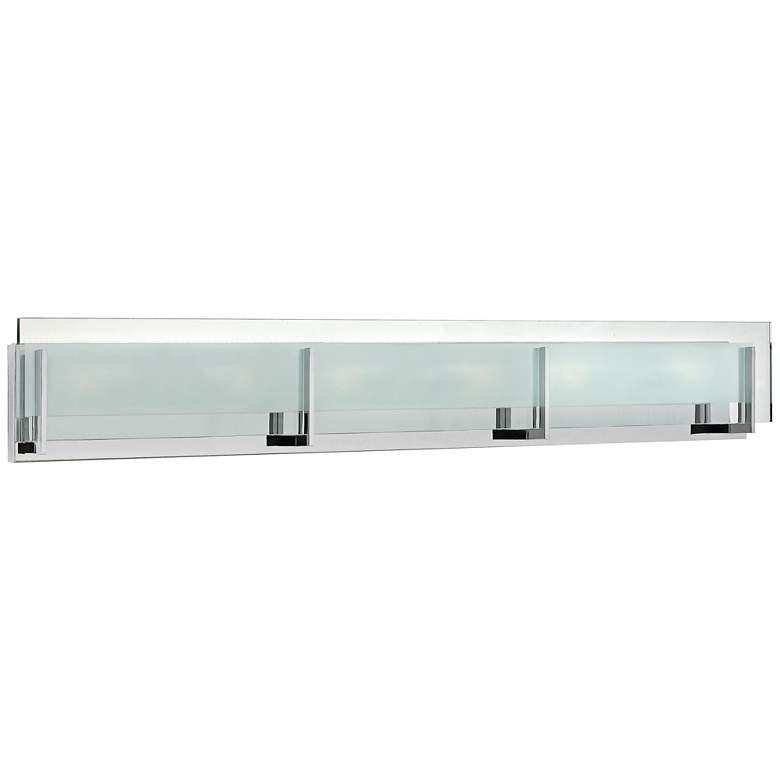 "Hinkley Latitude 37 1/2"" Wide Chrome 6-Light LED Bath Light"