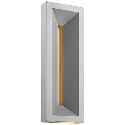 "Hinkley Plaza 20"" High Titanium LED Outdoor Wall Light"