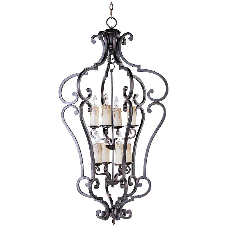 Richmond Colonial 26 1 2 Wide 8 Light Pendant Chandelier