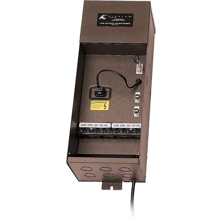 Kichler Plus Series 200-Watt Bronze Transformer
