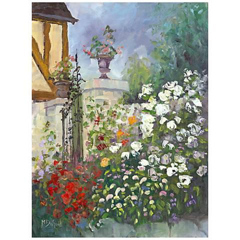 "Les Moulin 40"" High All-Season Outdoor Canvas Wall Art"