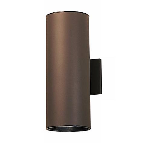 "Kichler Bronze Up/Down Wet Location 15"" High Tube Light"