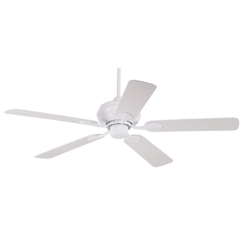 "52"" Casa Vieja® White Outdoor Ceiling Fan"