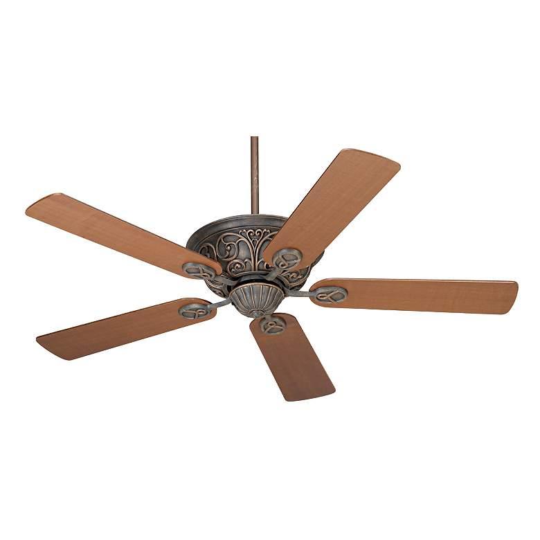 "52"" Casa Contessa™ Bronze Walnut Blades Ceiling Fan"