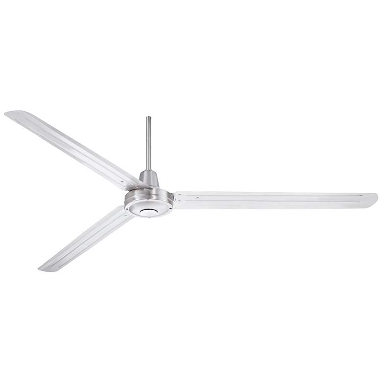 "72"" Turbina XL™ DC Brushed Nickel Ceiling Fan"