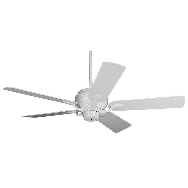 "52"" Casa Vieja® Casa Optima™ White Ceiling Fan"