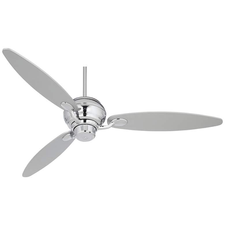 """60"""" Spyder™ Chrome Three Blades Ceiling Fan"""