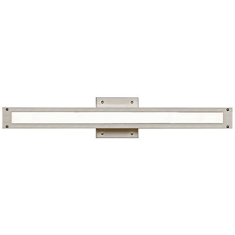 "LBL Denton 24"" Wide Satin Nickel LED Bath Light"