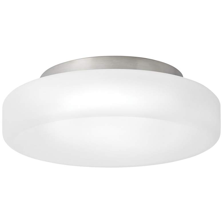 "Tech Lighting Vessa 11"" Wide Satin Nickel LED Ceiling Light"