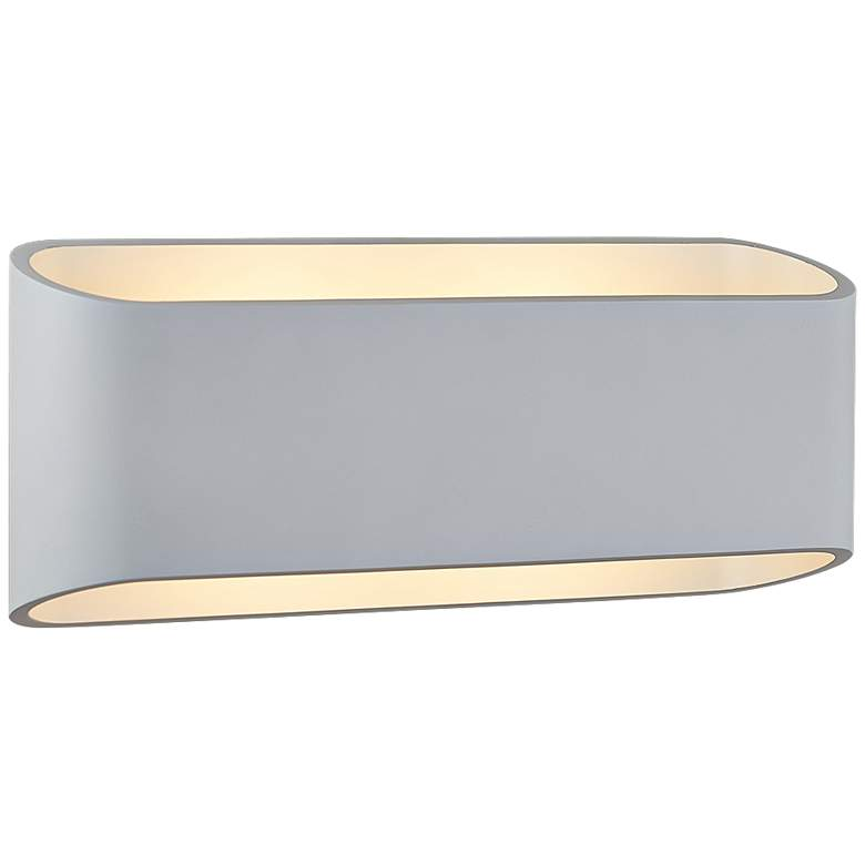"""Bruck Eclipse 4 1/2"""" High White LED Wall Sconce"""