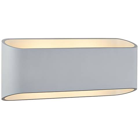 "Bruck Eclipse 4 1/2"" High White LED Wall Sconce"