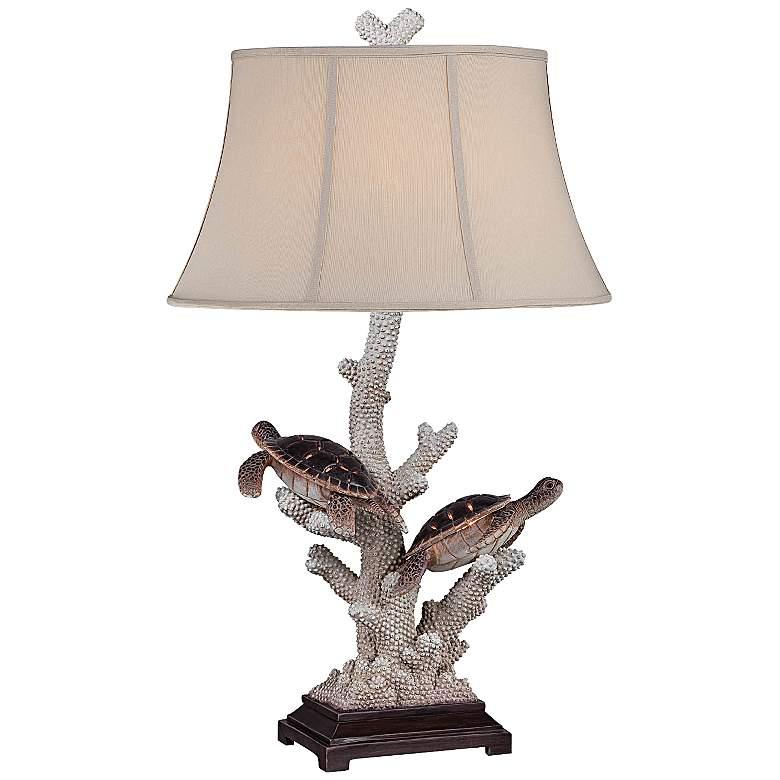 Warrington Twin Turtle Night Light Table Lamp
