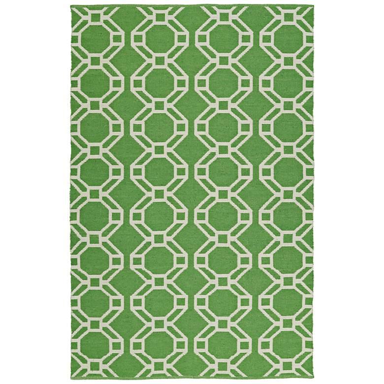 Kaleen Brisa BRI05-96 Lime Green Outdoor Area Rug