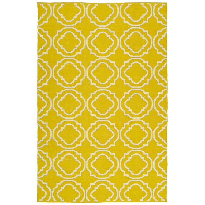 Kaleen Brisa BRI07-28 Yellow Outdoor Area Rug