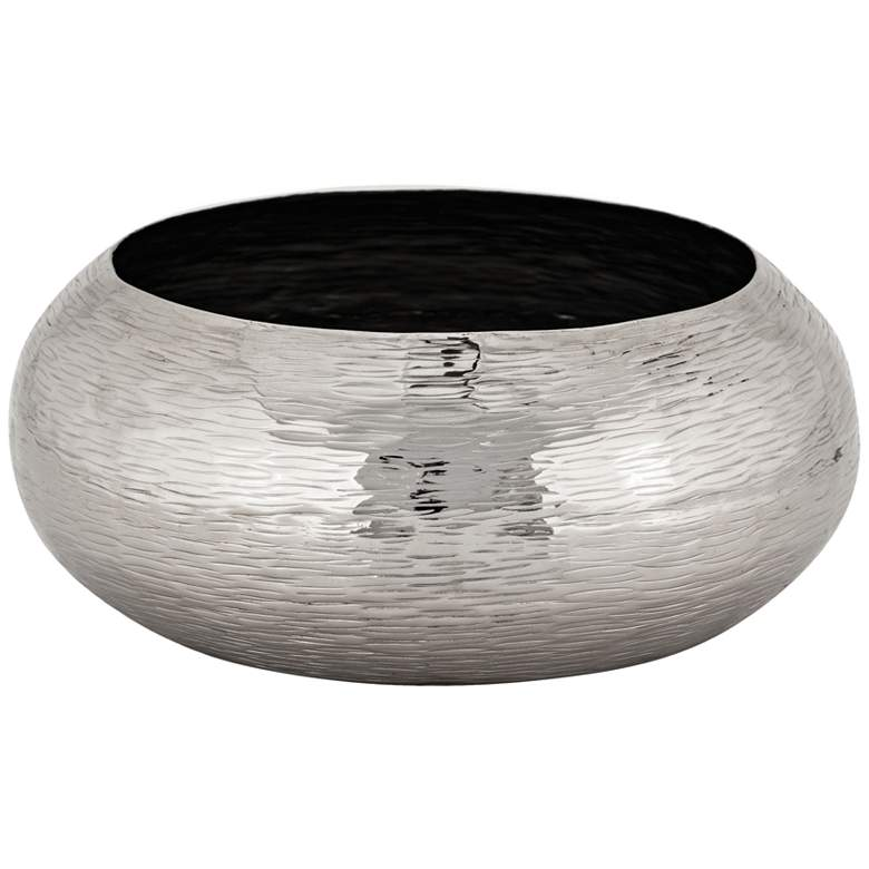 "Finesse 16 1/4"" Wide Polished Nickel Modern Bowl"
