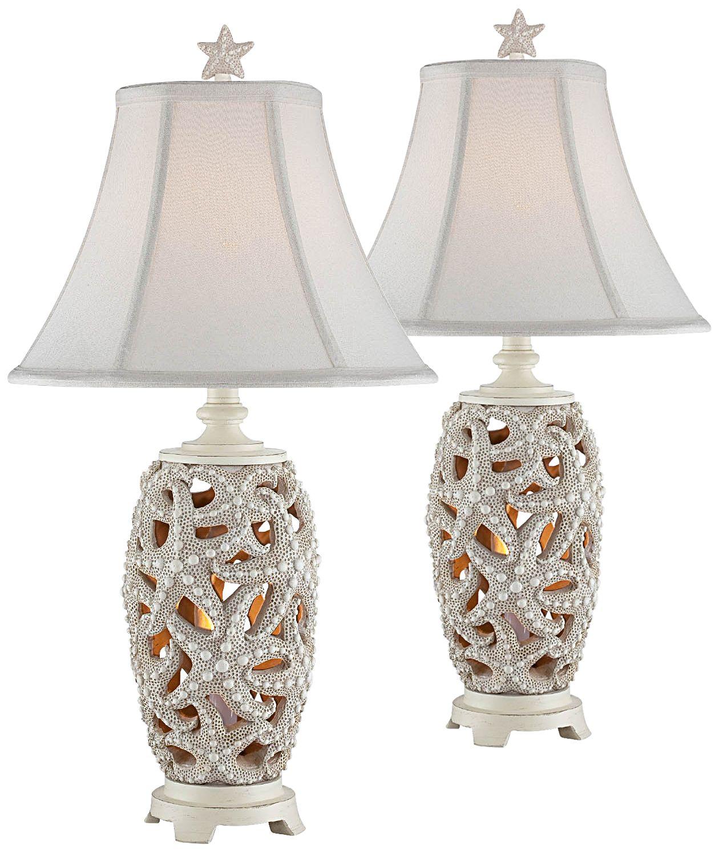 Avonmore Starfish Night Light Table L& Set of 2  sc 1 st  L&s Plus & Table Lamp Sets | Lamps Plus