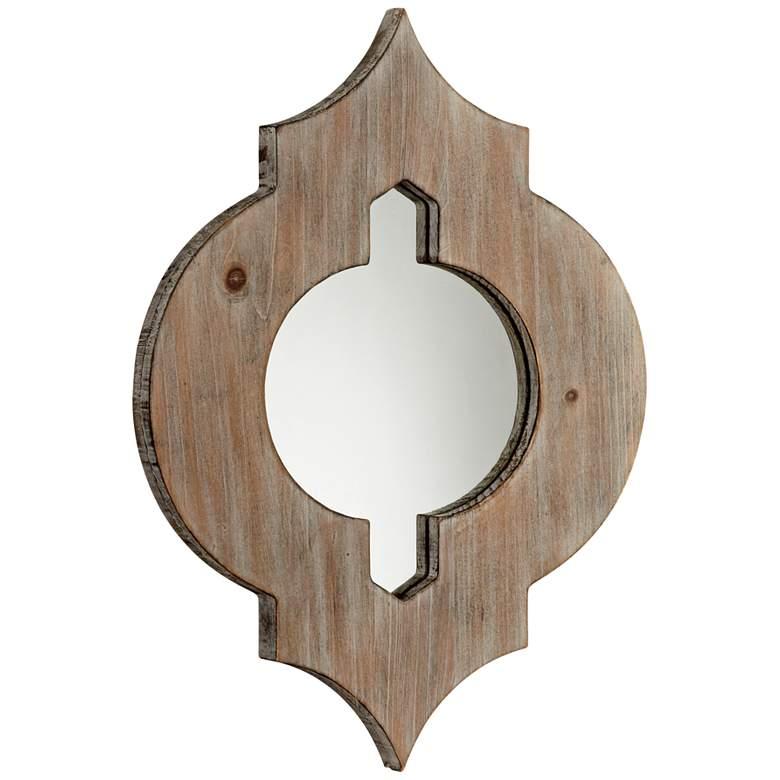 "Cyan Design Turk Washed Oak 13 1/4""x17 3/4"""