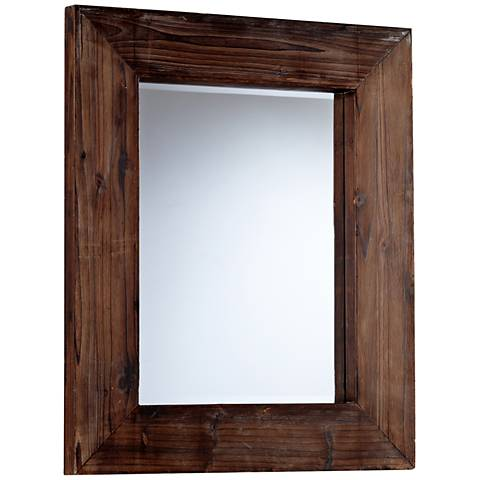 "Cyan Design Ralston Walnut 28"" x 34 1/2"" Wall Mirror"
