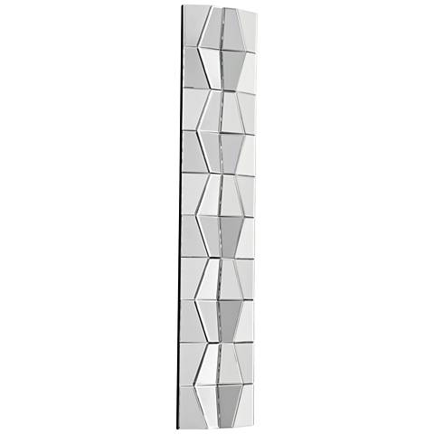 "Cyan Design Jester Clear 12"" x 59"" Wall Mirror"