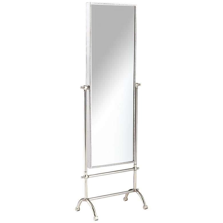 "Cassius Steel 19 1/4""x58 1/4"" Full Length Floor Mirror"