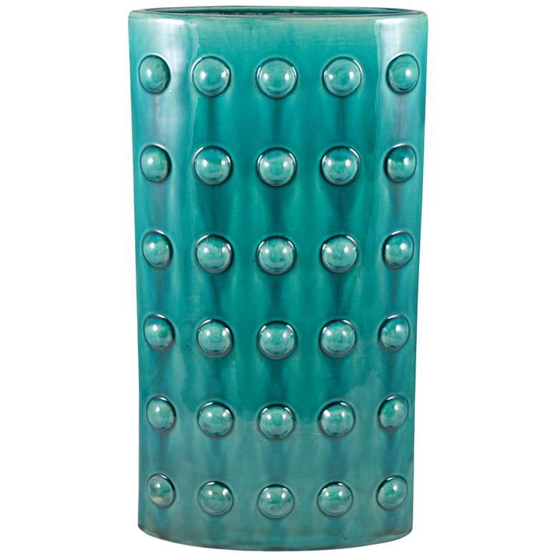 """Aquatica Aquamarine 19"""" High Small Ceramic Vase"""