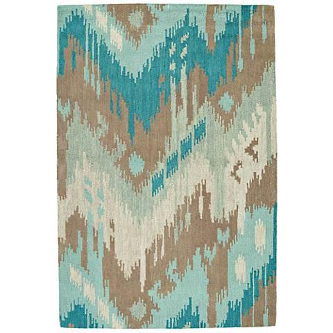 Kaleen Casual 5054-88 Mint Wool Area Rug