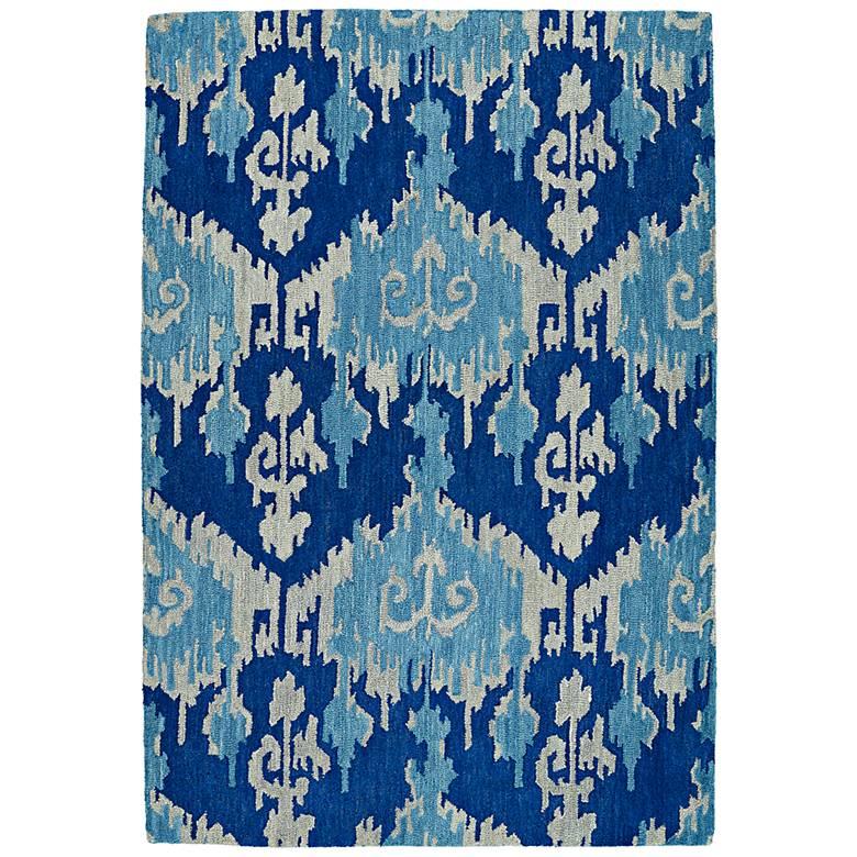 Kaleen Casual 5055-10 Denim Wool Area Rug