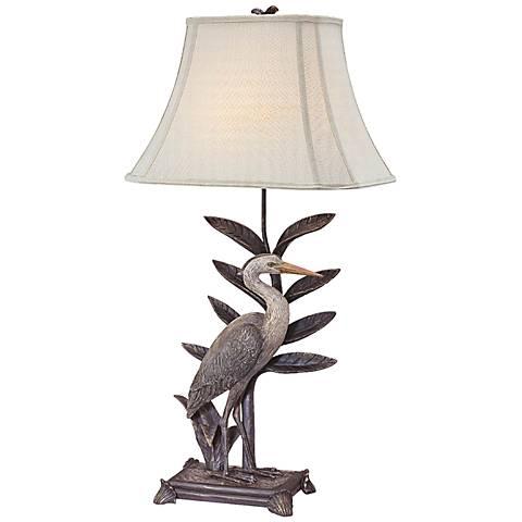 Leota Right Facing Heron Table Lamp