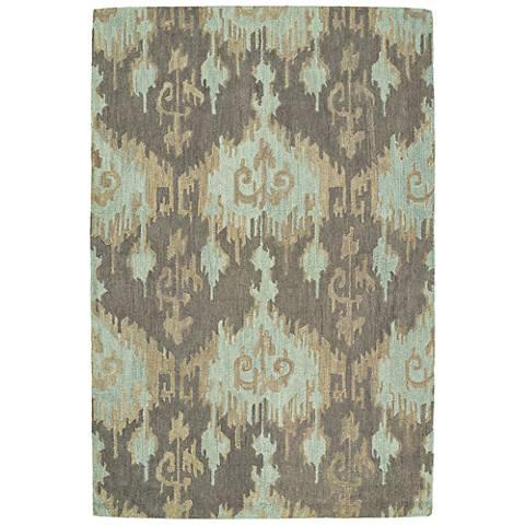 Kaleen Casual 5055-88 Mint Wool Area Rug