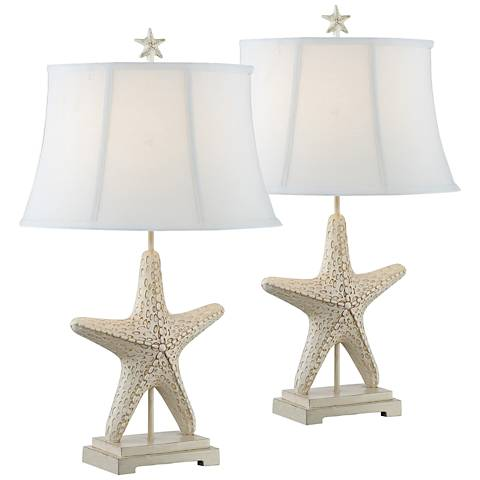 Torere Starfish Table Lamp Set of 2