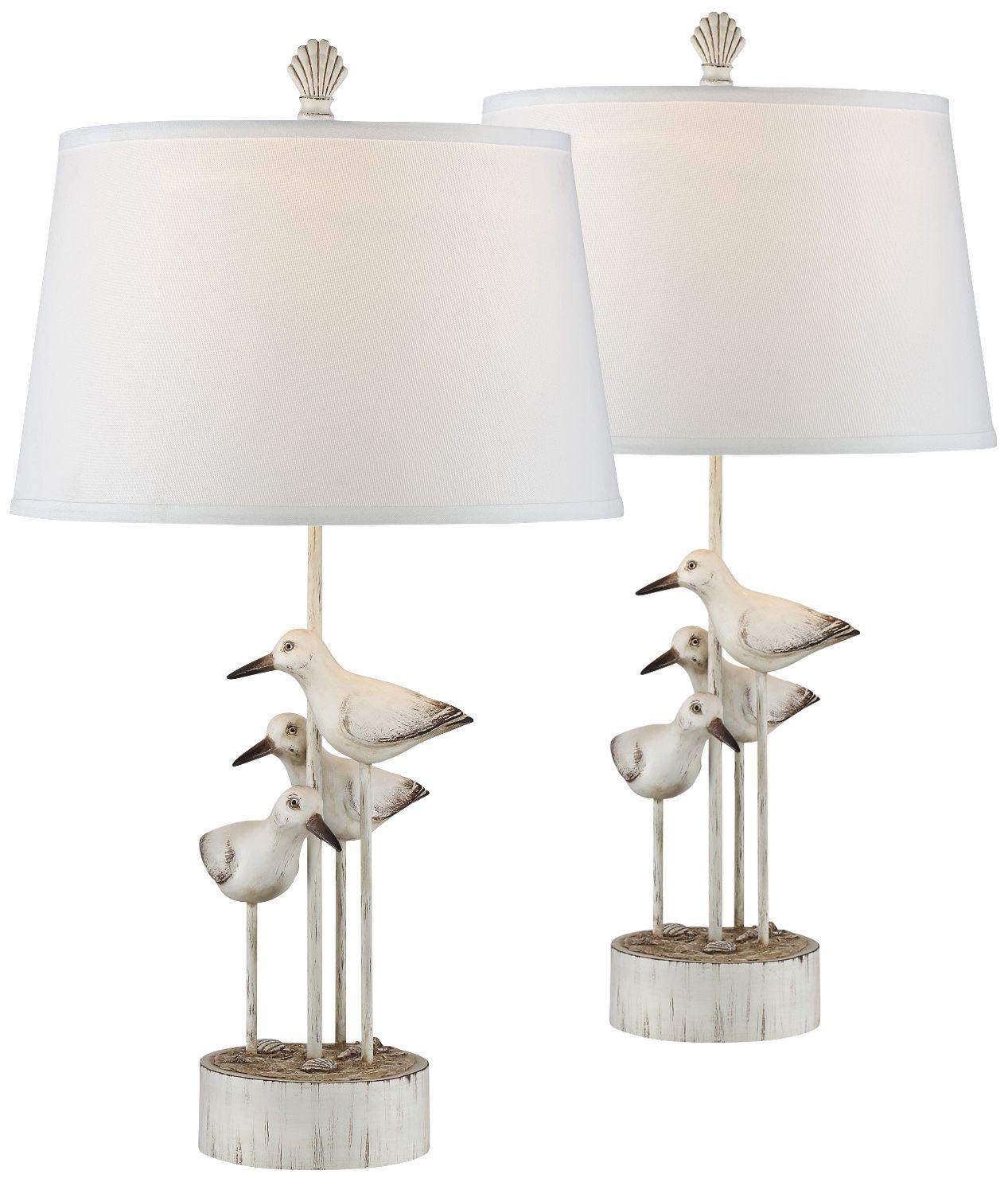 Perfect Newstead Sea Birds Table Lamp Set Of 2