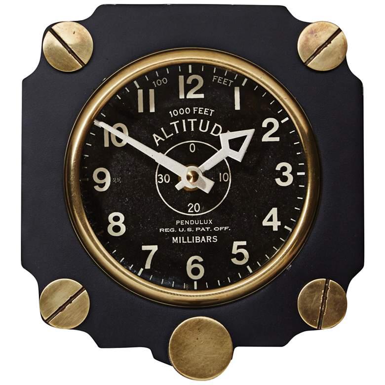 airplane instrument wall clock