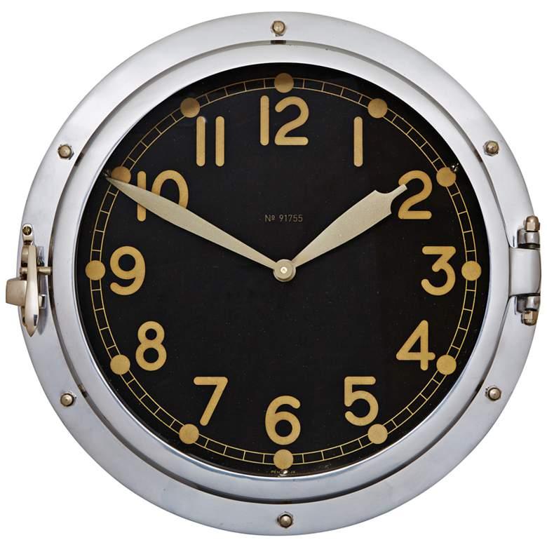 "Airship 14 1/2"" High Replica US Military Aviation Wall Clock"
