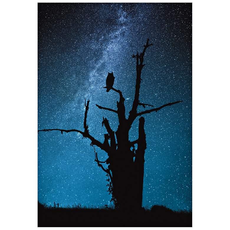 "Alone in the Dark 32"" High Wall Art"
