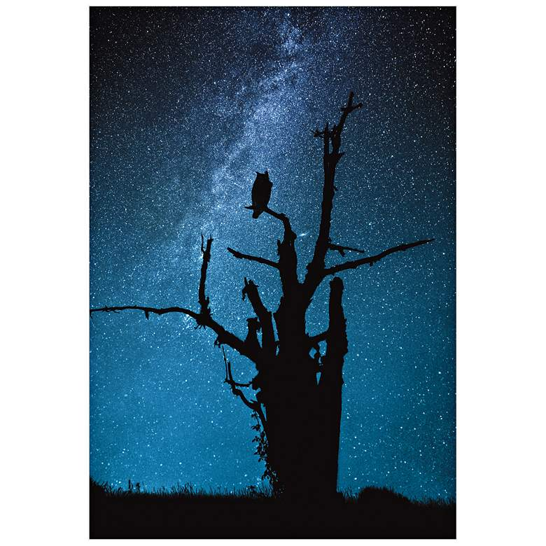 "Alone in the Dark 32"" High Wall Art Print"