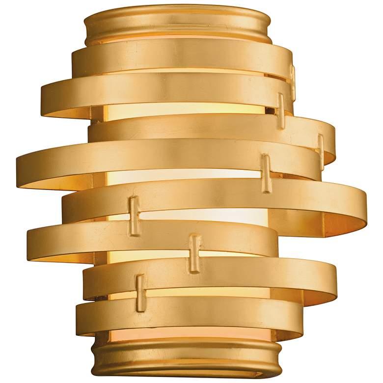 "Corbett Vertigo 10"" High Gold Leaf LED Wall"