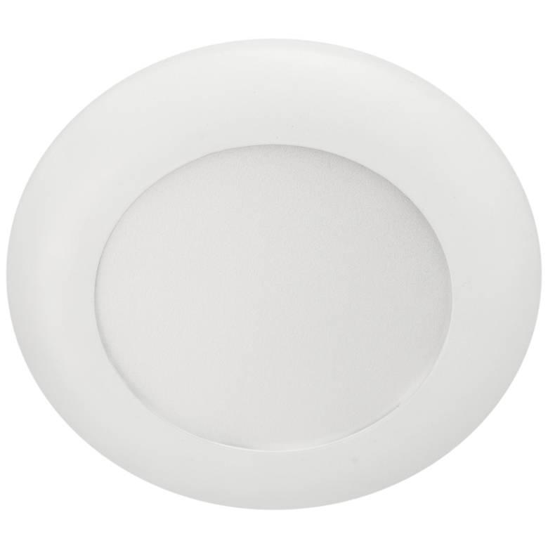 "5/6"" White LED Recessed Retrofit Trim or Surface Mount Light"