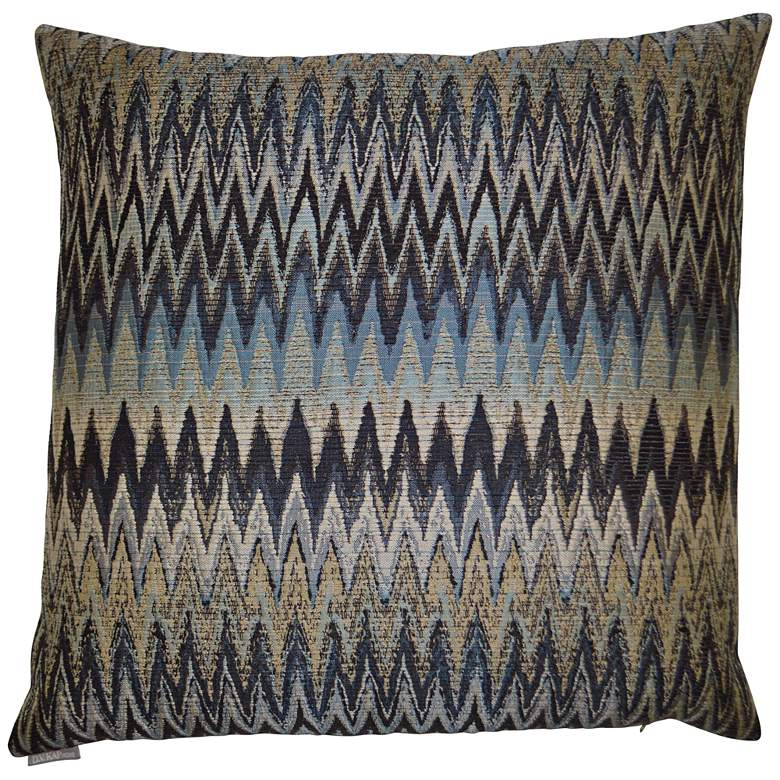 "Inferno Smoke 24"" Square Decorative Throw Pillow"